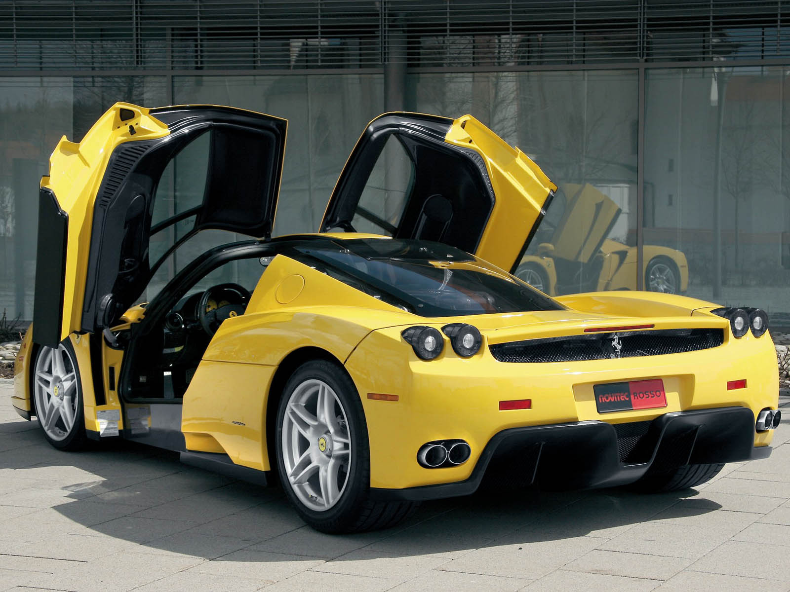 Ferrari Enzo Super Car – More Krash Dummies Please